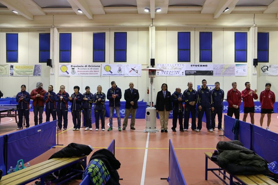 Gara Tennistavolo Norbello 23-01-2016