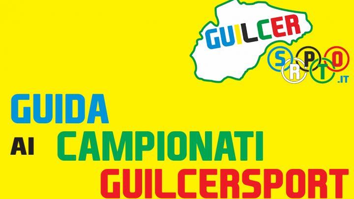 GUIDA AI CAMPIONATI GUILCERSPORT 16 e 17 APRILE 2016