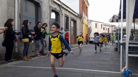 Atletica bambini stafetta Antunna Norbello porcu