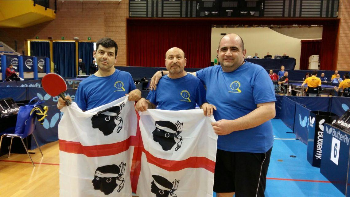 Serie A e Campionati Italiani Paralimpici 2016, presente anche il Tennistavolo Norbello