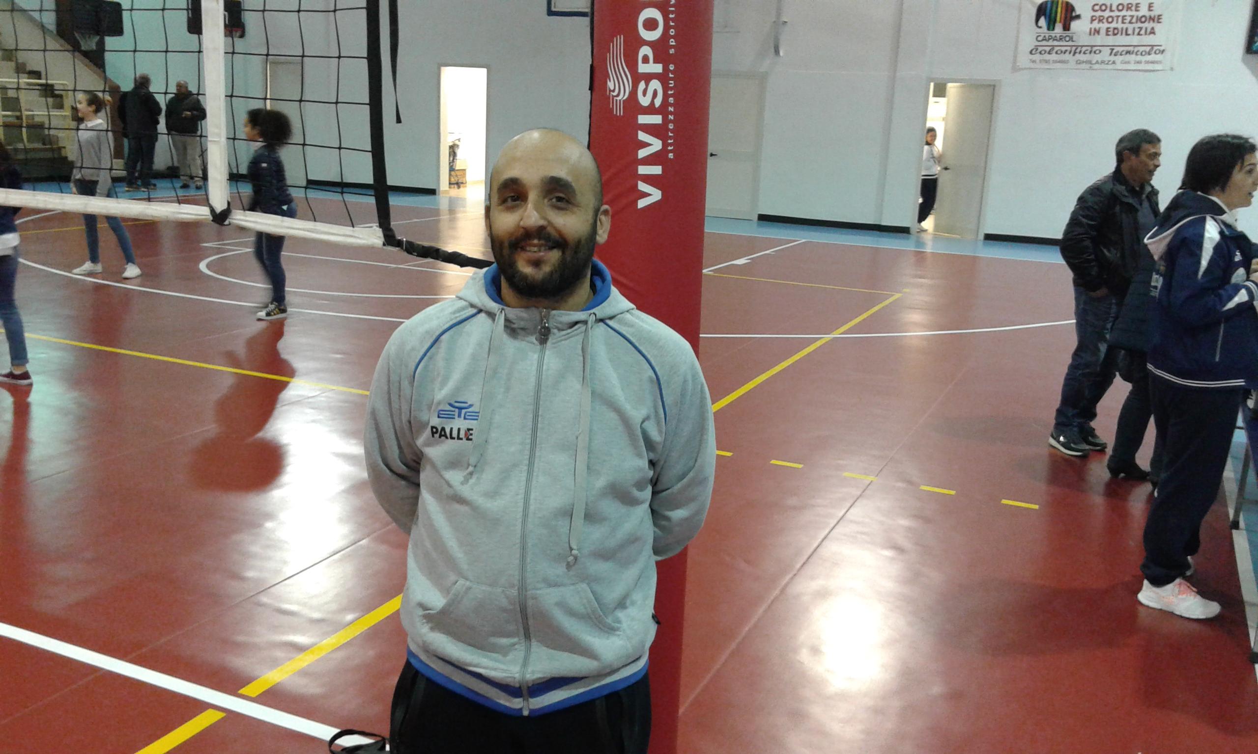 Camedda tecnico volley Ghilarza