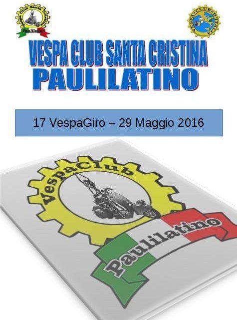 DOMENICA A PAULILATINO LA 17^ EDIZIONE DEL GIRO VESPA