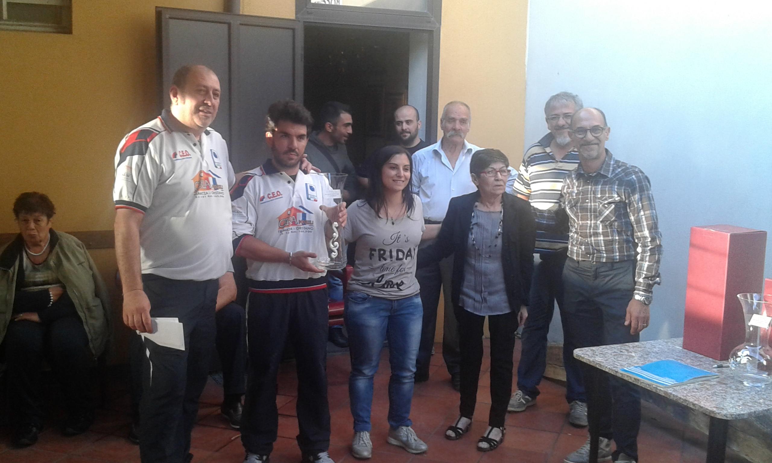 5° Memorial Tino Piras Famiglia Piras