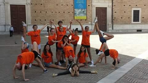Diario Dragonfly Camp. Italiani Ginnastica Pesaro 1
