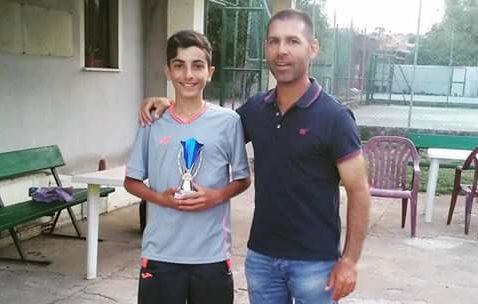 """Tennis. Federico Citzia del T. C. Ghilarza """"sbanca"""" al Torneo Nazionale Kinder in Abruzzo"""