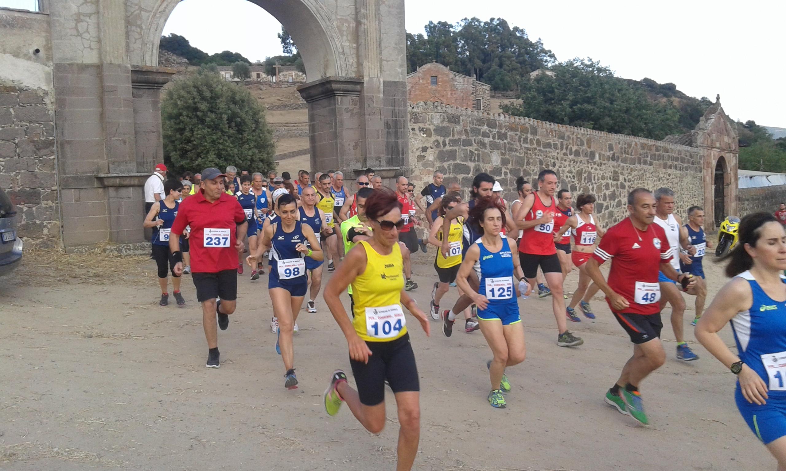 Giro podistico Per...correndo Sedilo