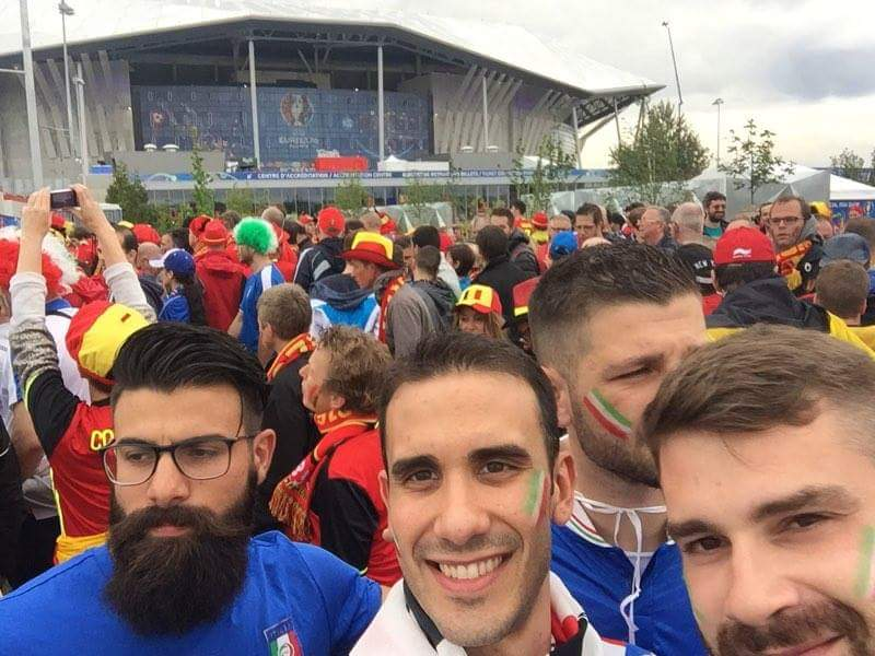 Trasferta Italia Belgio 13 giugno 2016