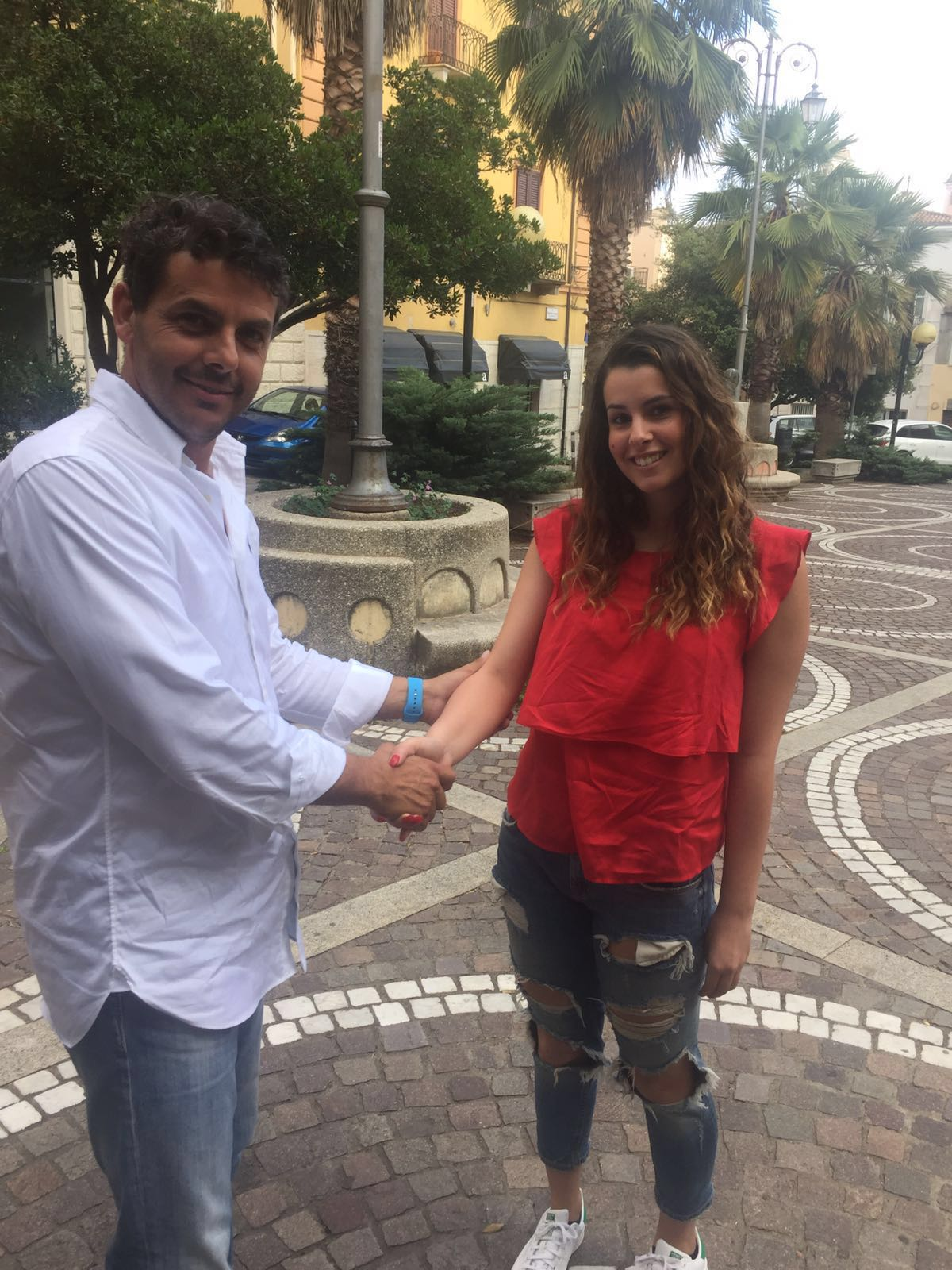 Adriano Bachis e Beatrice Moro