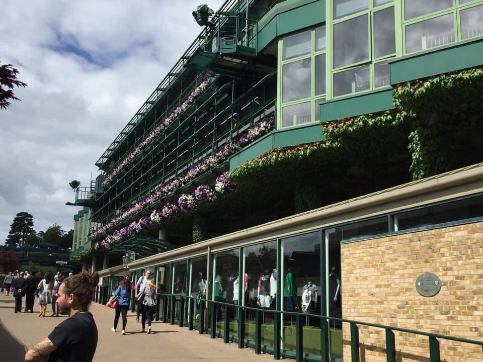 Foto 1 Riccardo Pinna a Wimbledon 2016