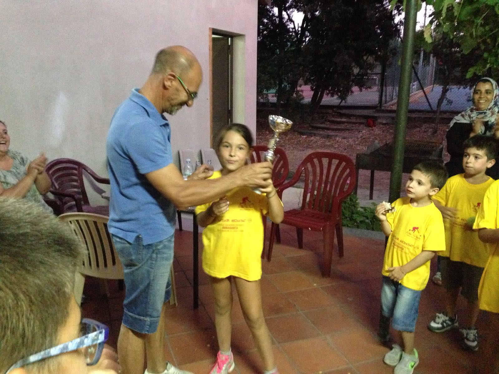 Foto 1 Servizio Scuola Bocce