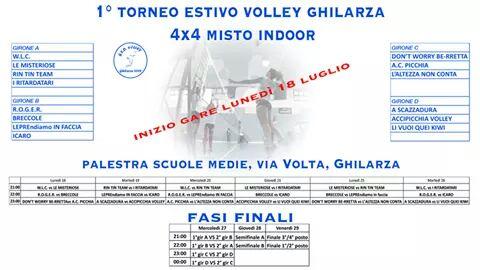 Foto 1 Servizio Torneo Pallavolo