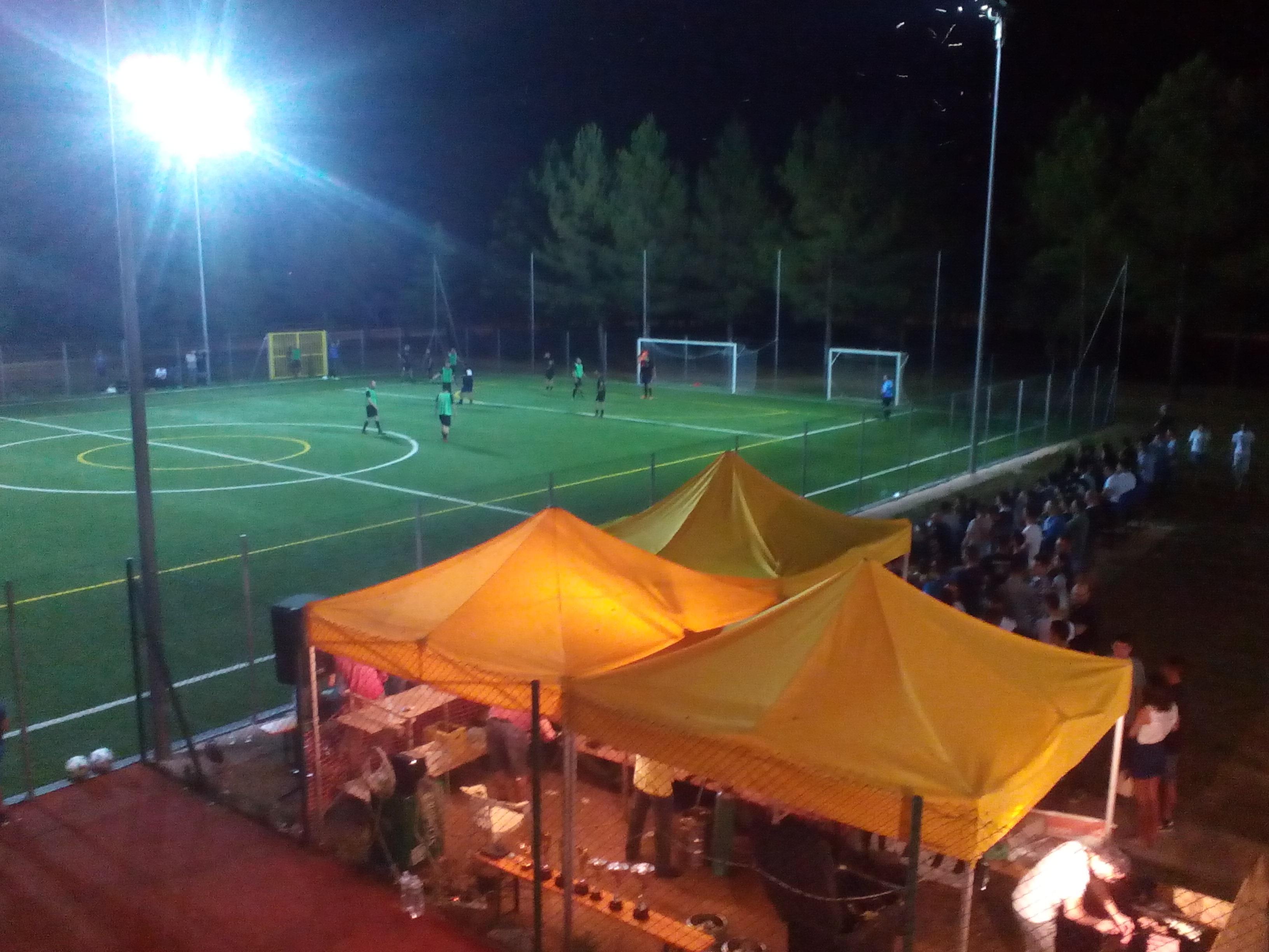Foto fasi di gioco Torneo Calcio a 7 Norbello 2016