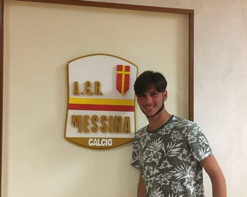 """L'osservatore del Guilcer Maniglio """"piazza"""" al Messina il giovane bomber di Oristano Alessio Falchi"""