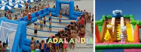Tadalandia, 3 settembre: sport, giochi, divertimento e allegria a Tadasuni.