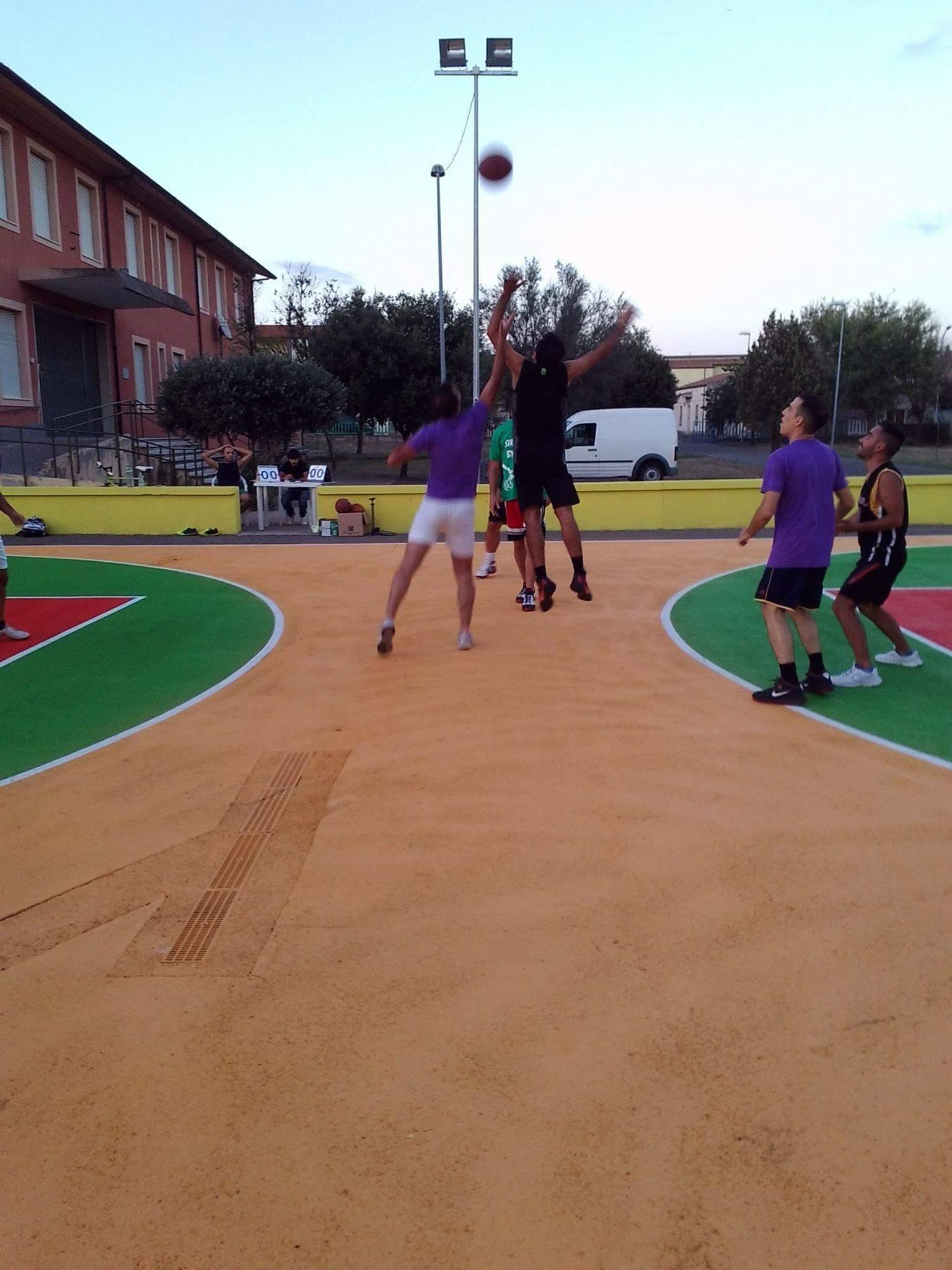 Street Basket Sedilo 2016