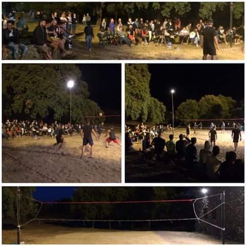 """Il Beach Volley fa il """"pienone"""" di pubblico ad Abbasanta"""