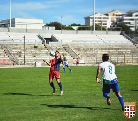 Gianmarco Marcangeli in campo per un'ora nella Torres sconfitta in casa per 2-0 da una Nuorese più cinica