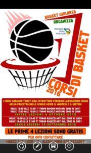 Locandina Basket Ghilarza 2016 2