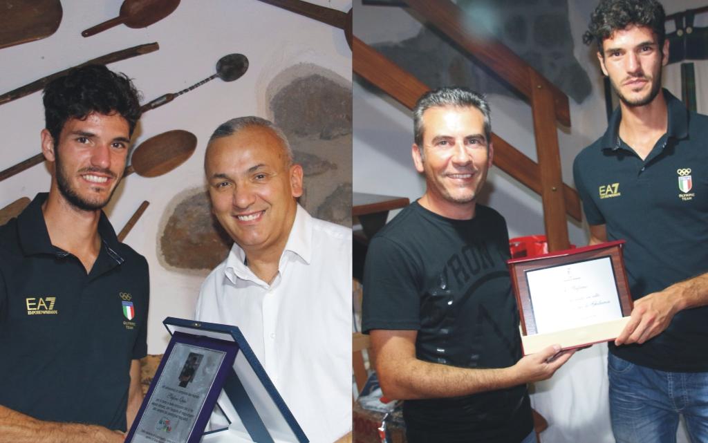 Stefano Oppo a Ghilarza premiato dal Comune e da GuilcerSport