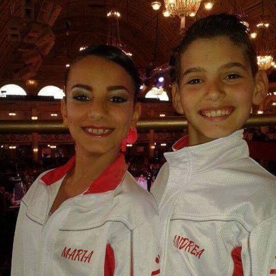 Danza Sportiva: Andrea Pia e Maria Bussu della Cuban Star di Abbasanta promossi alla classe internazionale