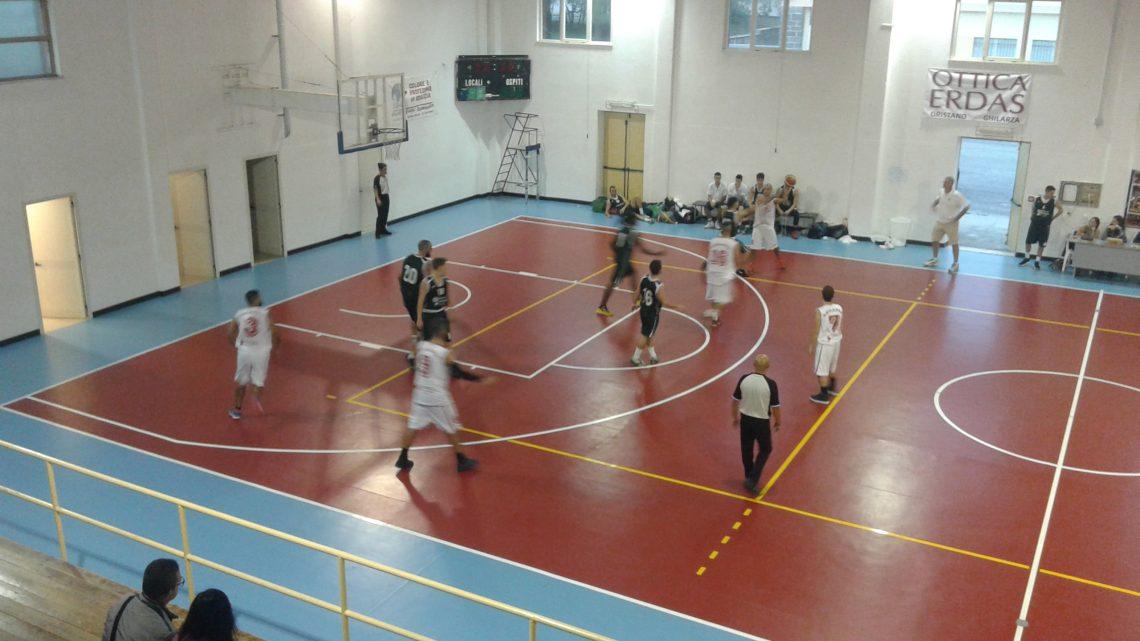 Pallacanestro Promozione: 1a vittoria esterna del Basket Ghilarza a Olbia per 62-73