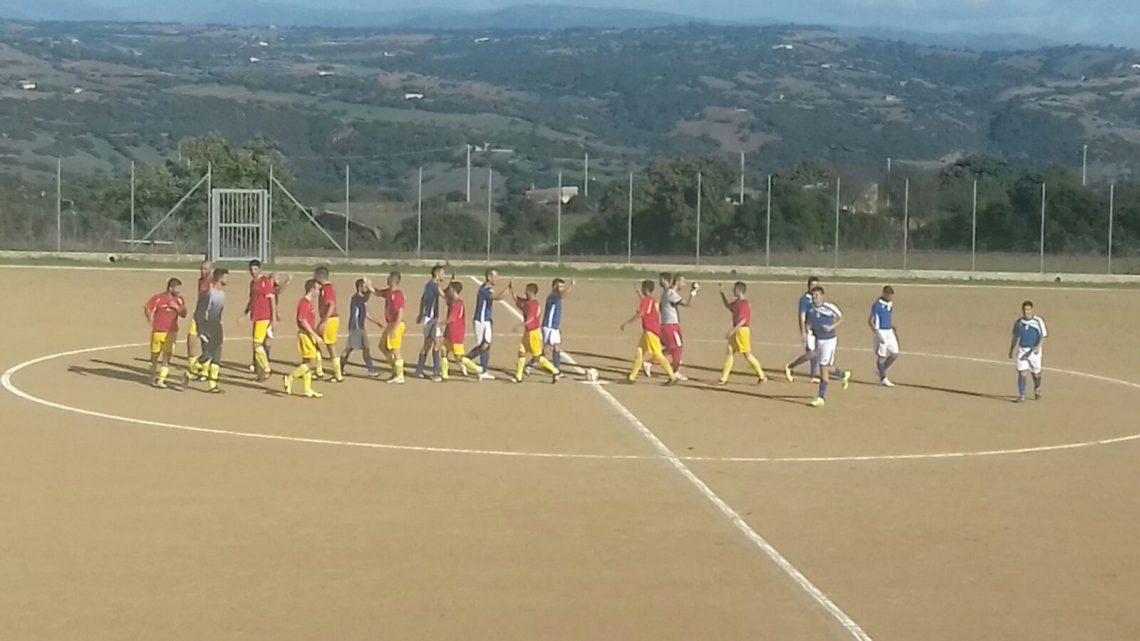 Calcio 1a Categoria Girone C: gran gol di Davide Muscau a Ruinas e il Sedilo respira