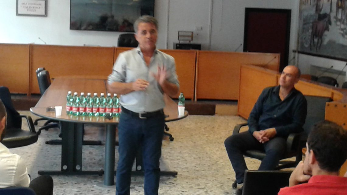 """Bernardo Mereu in """"cattedra"""" a Bonorva per la Giornata dello Sport"""