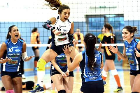 Volley Femminile Serie B2. Ariete tutto grinta e cuore, arriva la 1a vittoria