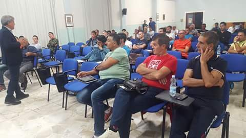 Il 7 Novembre 2a giornata del seminario di Mister Academy sul 4-3-3 tenuto da Bernardo Mereu