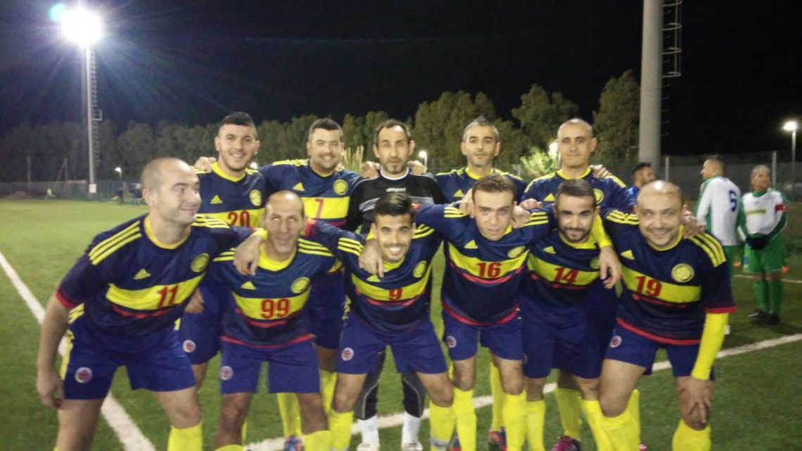 Calcio Over 35. Seconda sconfitta per Sas Mendulas ma bilancio 2016 più che positivo