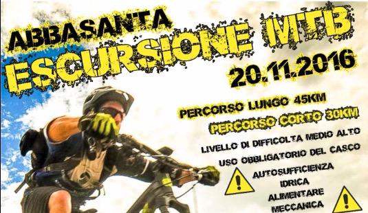 Ciclismo: Escursione MTB ad Abbasanta il prossimo 20 Novembre