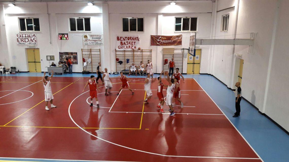 Il Basket Ghilarza batte la Demones Ozieri per 77 a 58 e vola in classifica