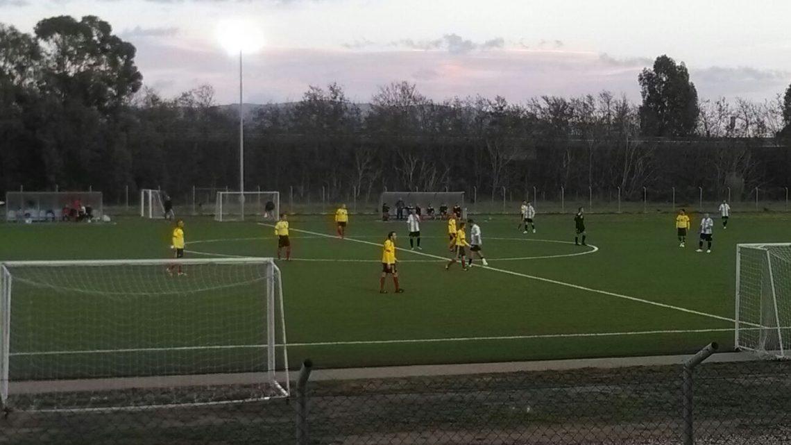 Calcio Over 35: Sas Mendulas Ghilarza forza sette a Santa Giusta con dedica a Ben