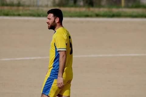 Calcio 2a Categoria I . Alessandro Sanna match winner della Paulese con la Furia Rossa
