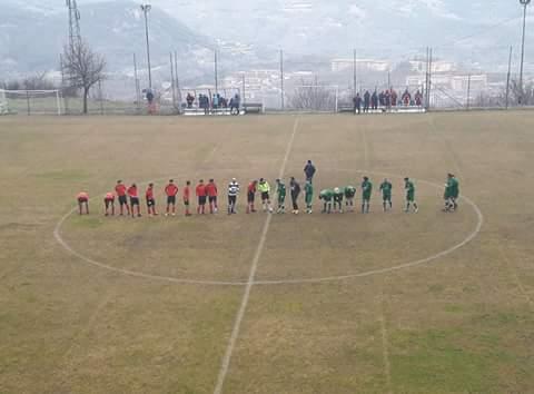 """Calcio 1a Categoria C. Abbasanta in emergenza non """"sfonda"""" ad Aritzo: 0-0"""