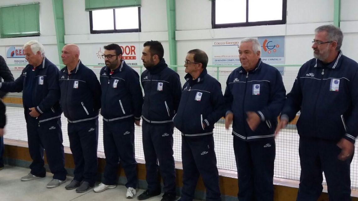 Bocce: prestigiosa vittoria del circolo bocciofilo di Ghilarza contro la SOMS Oristano