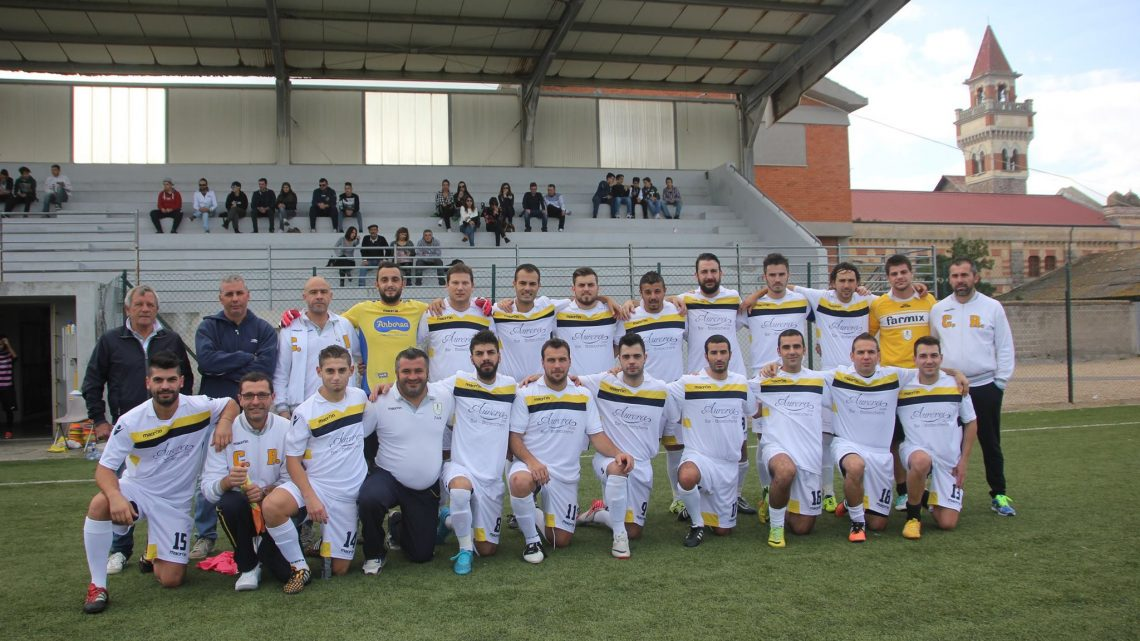 Calcio 1a Categoria C. Il centrocampista del CR Arborea Damiano Poli fa le carte alla penultima di andata