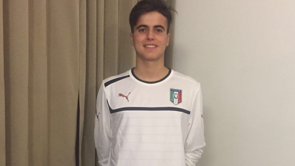 Prima giornata di Federico Bachis nella Nazionale Under 18