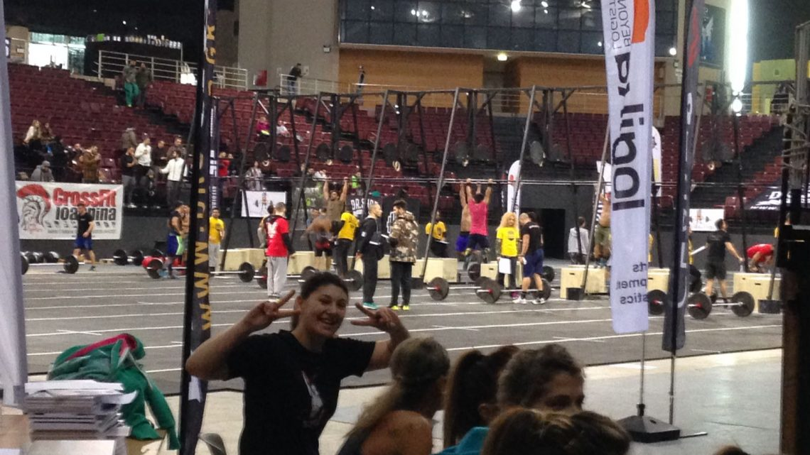 Crossfit: Ilaria Ligas del Guilcer Team la Città protagonista ad Atene