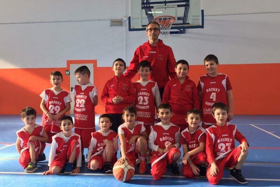 """Basket Ghilarza. Mentre la 1a squadra delude, i """"Tigrotti"""" del Ghilarza vincono la loro 1a partita ufficiale"""