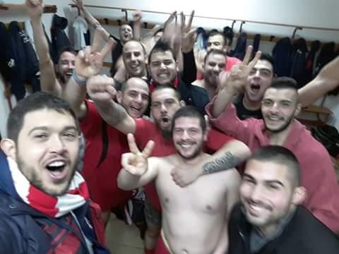 Calcio 2a Categoria H. Colpaccio dell'Aidomaggiorese con la capolista  Borore: 1-2