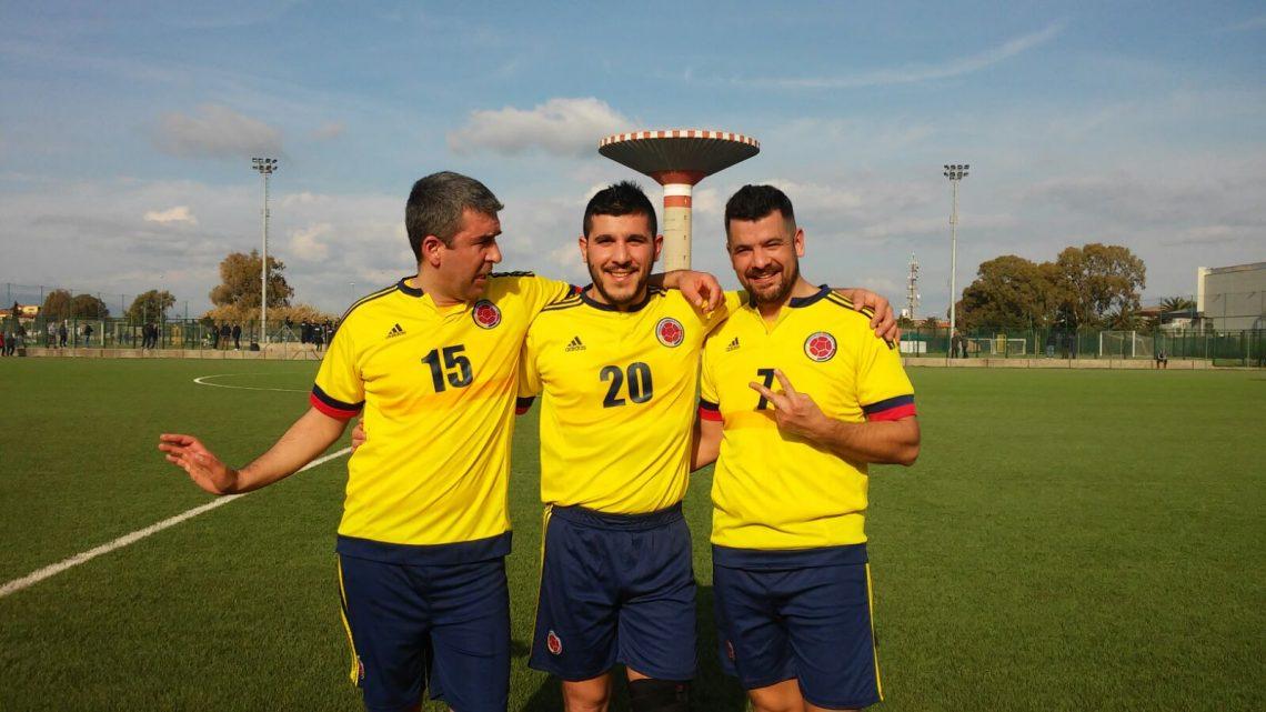 Calcio Over 35. Partenza sprint di Sas Mendulas Ghilarza nella 2a fase del torneo. 6-0 al Blu Bar