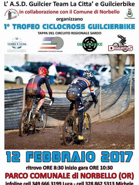 """Ciclismo. Conto alla rovescia a Norbello per il """"1° Trofeo Guilcierbike"""" di ciclocross"""