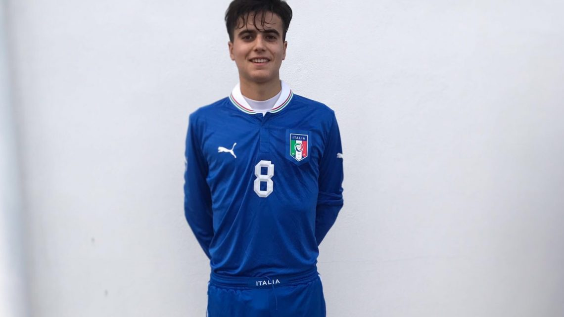 """Calcio. Nuovamente in """"azzurro"""" Federico Bachis convocato nella Nazionale Under 18 LND"""