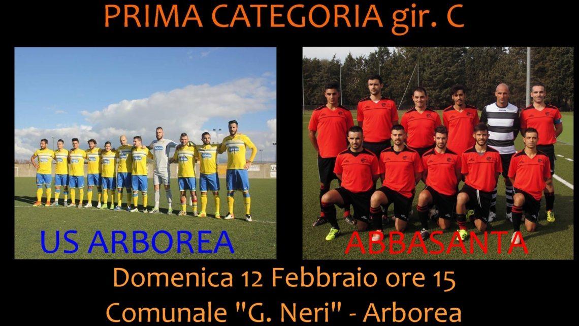 Calcio 1a Categoria Girone C. Cresce l'attesa per la super sfida al vertice Arborea-Abbasanta