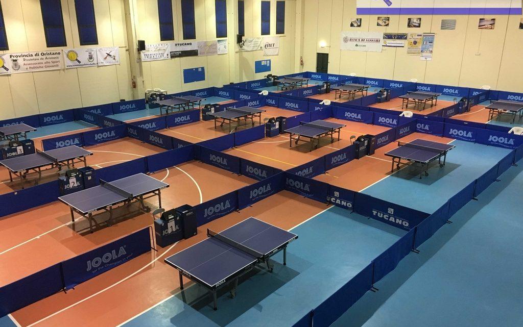 Tennistavolo Norbello. Torneo regionale 5a categoria Domenica 5 in via Azuni.