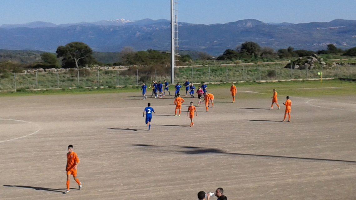 Calcio 2a Categoria Girone H. Pari dell'Aidomaggiorese in casa con l'Oniferese. A Deriu risponde Calvia