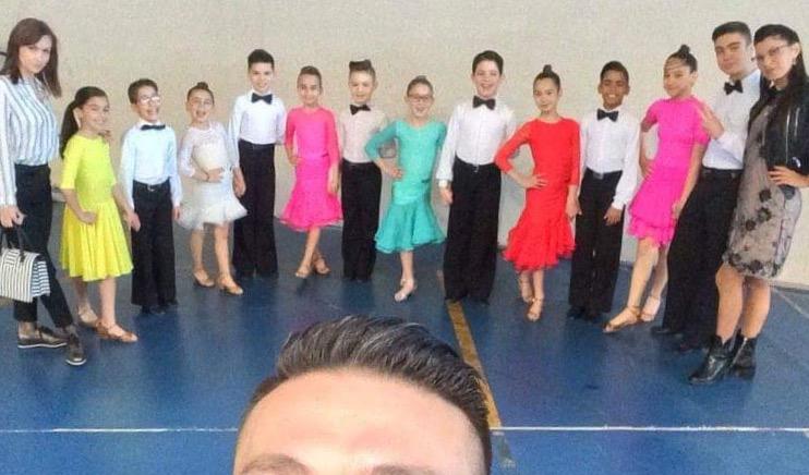 Danza Sportiva. Pioggia di medaglie a Olbia per principianti della Cuban Star di Abbasanta.