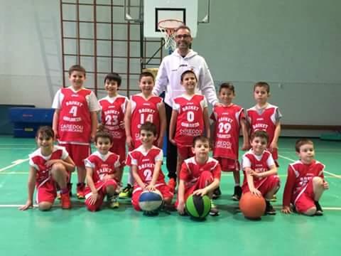 """Bel momento per il Basket Ghilarza che vince con """"grandi"""" e """"piccoli"""""""
