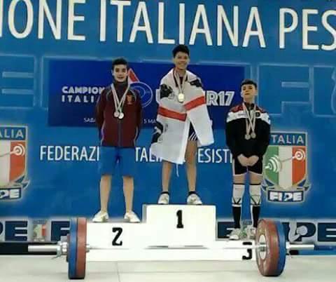 PESISTICA. Mondo sportivo del Guilcer in festa per Sergio Massidda Campione Italiano Under 17